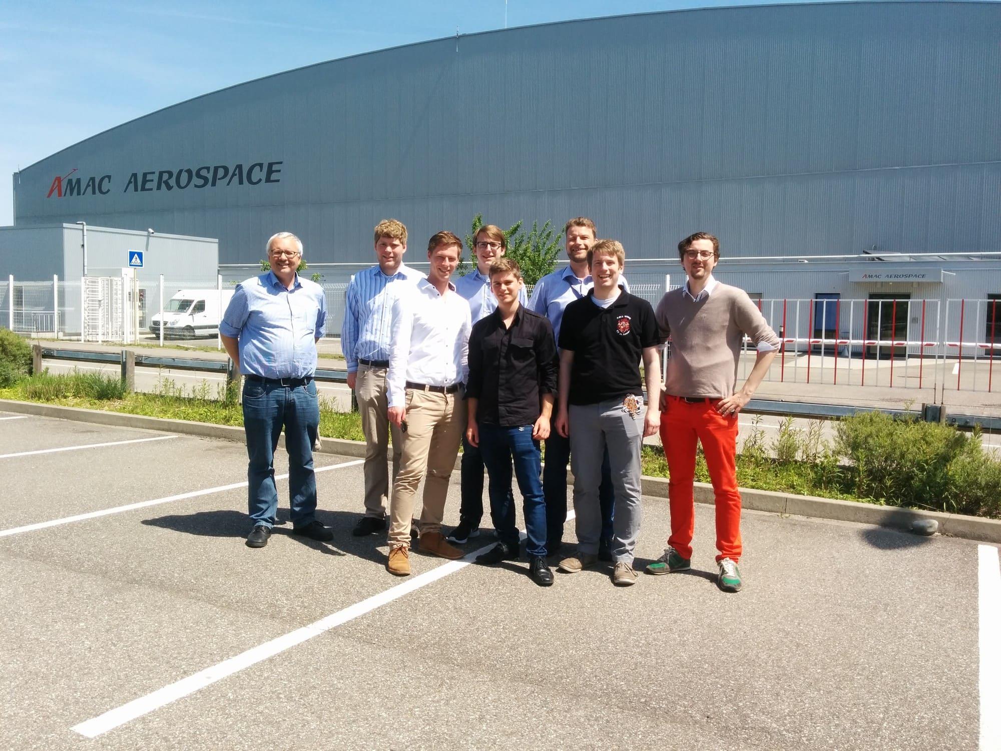 Gruppenbild AMAC Aerospace